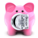 Piggy bank on white background Stock Photo