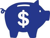 Free Piggy Bank With Dollar Sign Stock Photos - 107185403