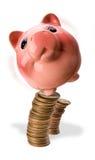 Piggy Bankguthaben. Lizenzfreie Stockfotos