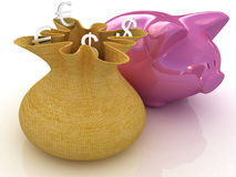 Piggy banks Stock Photos