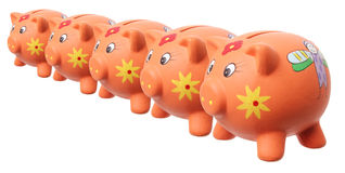Piggy Banks Stock Photography