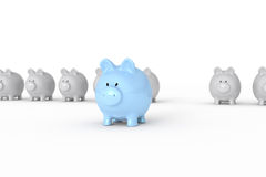 Piggy banks Stock Photos