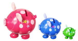 Piggy Banks Royalty Free Stock Photos