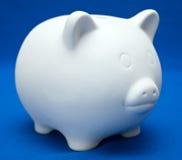 Piggy on Blue Stock Photography