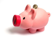 Piggy box Royalty Free Stock Photos