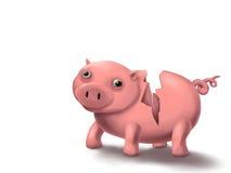Piggy brach vektor abbildung