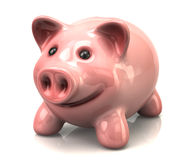 Piggy coin bank Royalty Free Stock Image