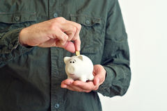 Piggy coin bank Royalty Free Stock Photography