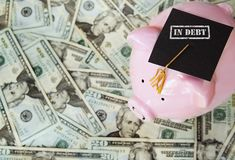 Student Loan debt Stock Photos