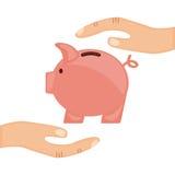 Piggy design Stock Photography
