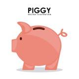 Piggy design Stock Images