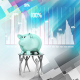 Piggy money bank Stock Image