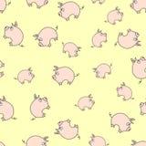 Piggy Muster Lizenzfreies Stockbild