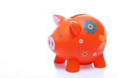 Piggy Orange Stockfoto