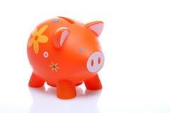 Piggy orange Stock Photography