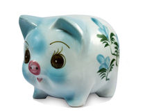 Piggy packa ihop Arkivfoto