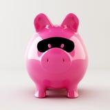 Piggy packa ihop rånaren Royaltyfria Bilder