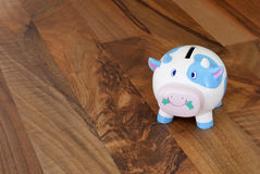 Piggy pig. Money box, end of month Royalty Free Stock Image