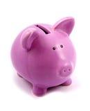 Piggy-Querneigung Lizenzfreies Stockbild