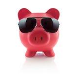Piggy Querneigung-Serie lizenzfreie stockfotos