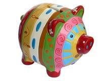 Piggy Querneigungen Lizenzfreie Stockfotos