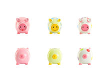 Piggy Querneigungen Lizenzfreies Stockbild