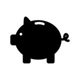 Piggy savings  icon Royalty Free Stock Images
