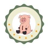 Piggy savings money icon. Vector illustration design Stock Photography