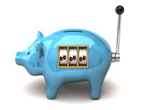 Piggy Slot Machine Stock Photos
