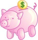 piggy symbol för gruppsymbol stock illustrationer