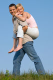 Piggyback Stock Images