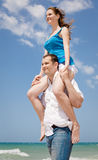 Piggyback Royalty Free Stock Images
