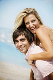 Piggyback Royalty Free Stock Photo