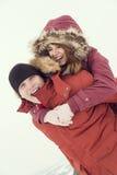 piggyback стоковая фотография rf