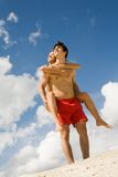 piggyback Zdjęcie Royalty Free