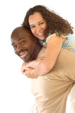 Piggyback couple Stock Photography