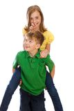 PiggyBack Ride Royalty Free Stock Image