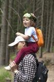 Piggyback ride Royalty Free Stock Photos