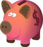 Piggybank Στοκ εικόνες με δικαίωμα ελεύθερης χρήσης