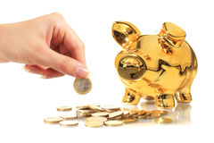 Piggybank. Royalty Free Stock Image