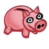 Piggybank stock illustrationer