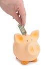 Piggybank Arkivbilder