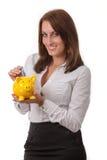 Piggybank Arkivfoto