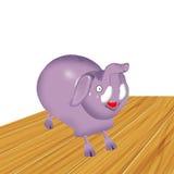 Piggybank del elefante Foto de archivo