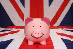 Piggybank great britain Royalty Free Stock Images