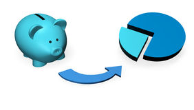 Piggybank Investment Fund Stock Photos