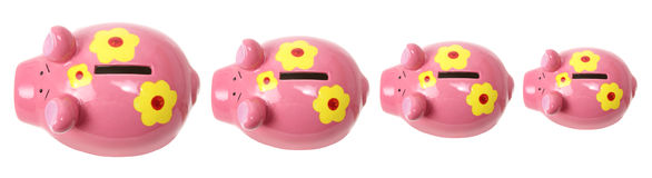 Piggybanks Stock Photography