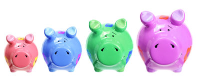 Piggybanks Stock Images