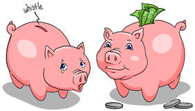 piggybanks illustration stock