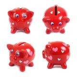 Piggys in liefde Royalty-vrije Stock Foto's